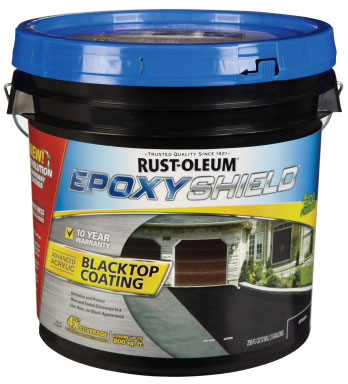 Rust-oleum EpoxyShield Blacktop Coating